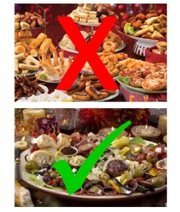 party food choices
